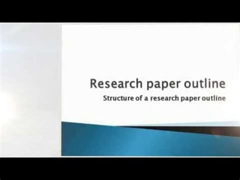 A Beginners Guide to Research Paper Writing - Part 703